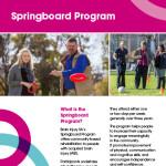 Springboard Program Brochure