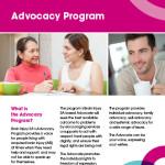 Advocacy Program Brochure