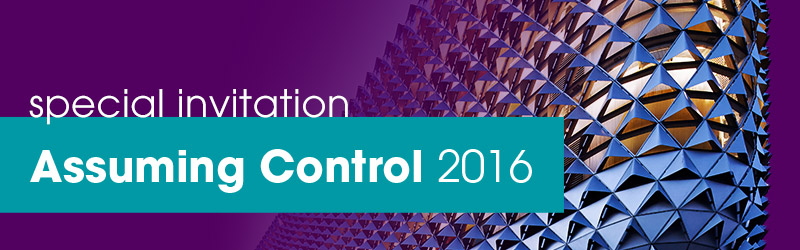 Special Invitation Assuming Control 2016
