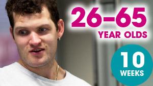 26–65 year olds: 10 weeks