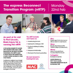The express Reconnect Transition Program (eRTP)