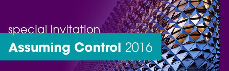 Special Invitation Assuming Control 2016