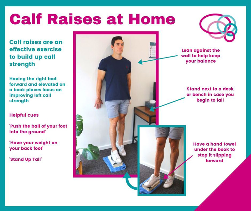 Calf Raises at Home with Dylan