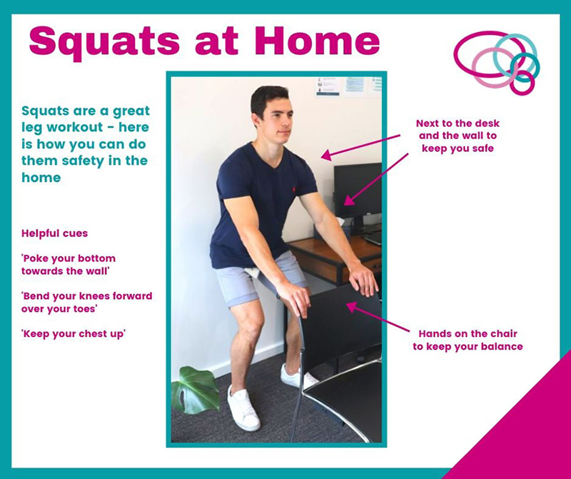 Squats at Home with Dylan