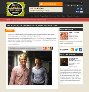 Ed Weaver Radio Adelaide Interview