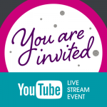 You are invited – YouTube Live Stream Event