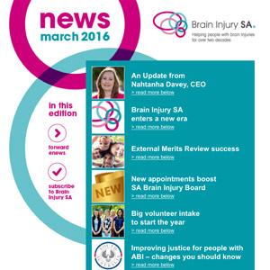 March 2016 eNews Edition