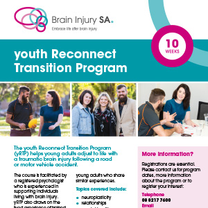 Youth Reconnect Transition Program (yRTP) Brochure